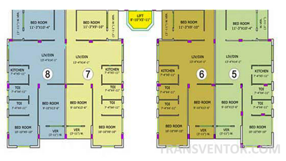 Purti Utsav Floor Plan 2