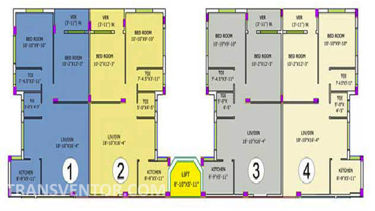 Purti Utsav Floor Plan 3