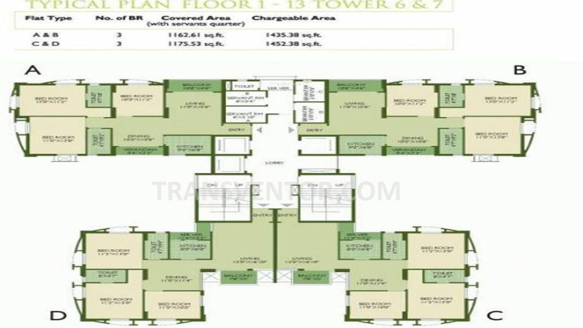 Sankalpa Floor Plan 1