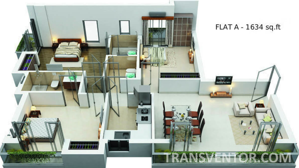 Shivam Astera Floor Plan 2