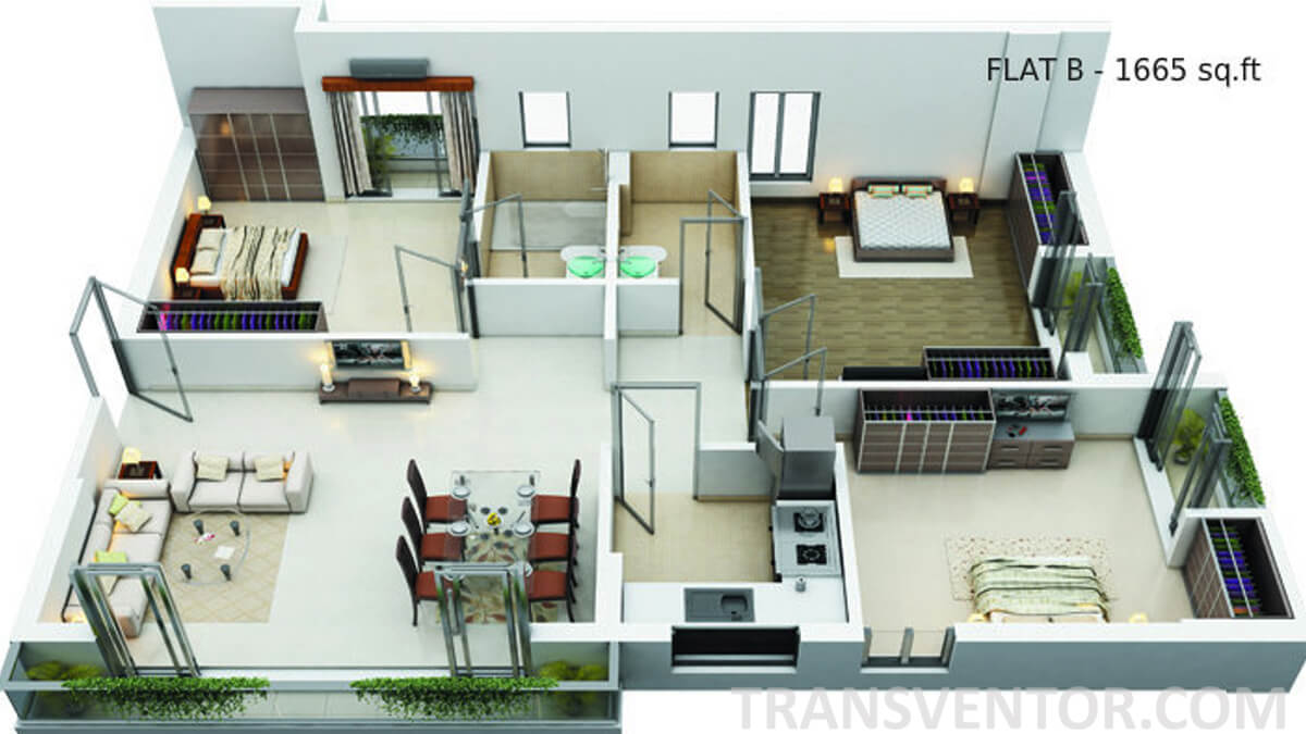 Shivam Astera Floor Plan 3