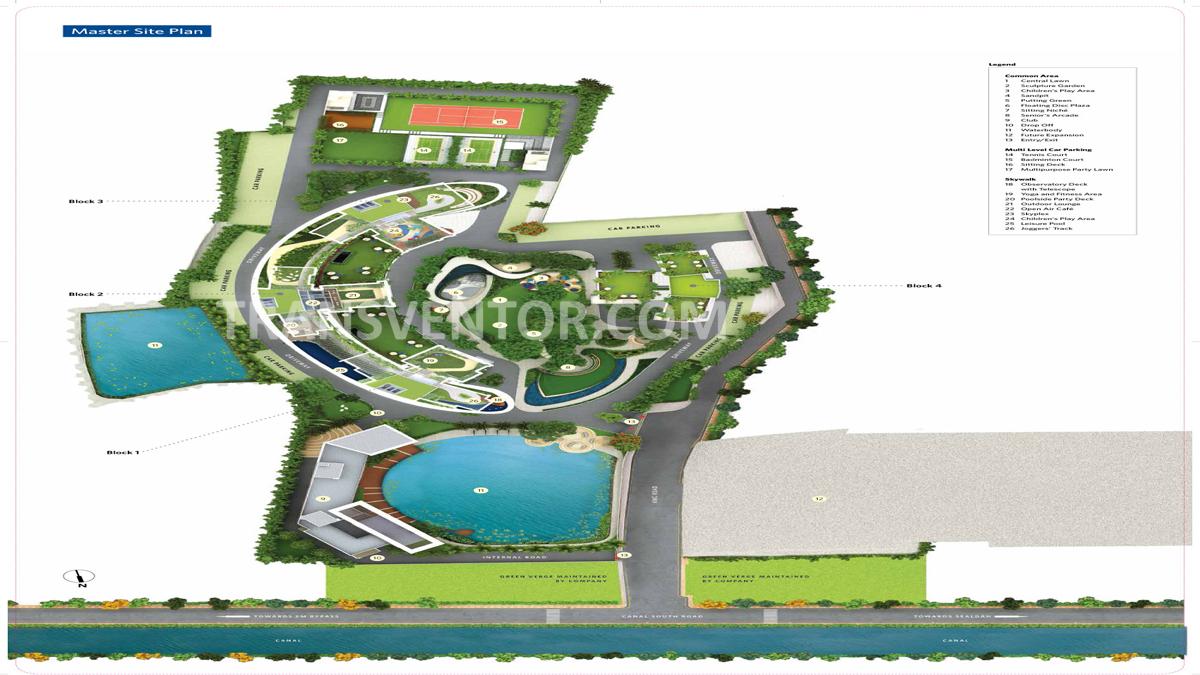 Siddha Sky Floor Plan 1