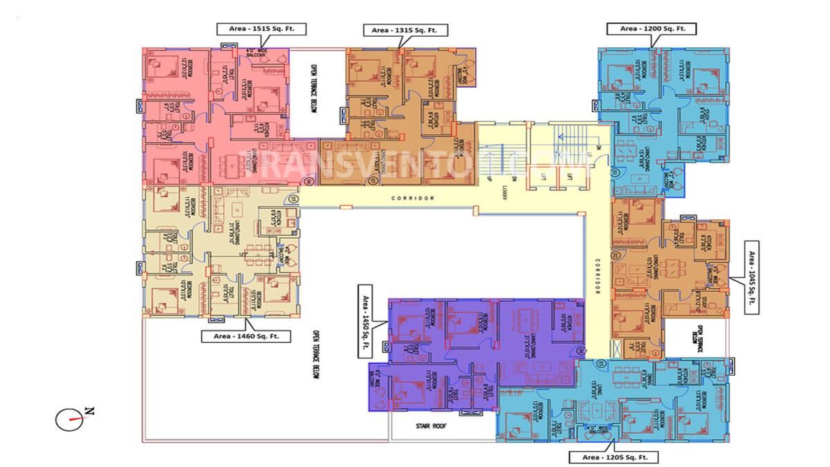 Siddhatown Floor Plan 1