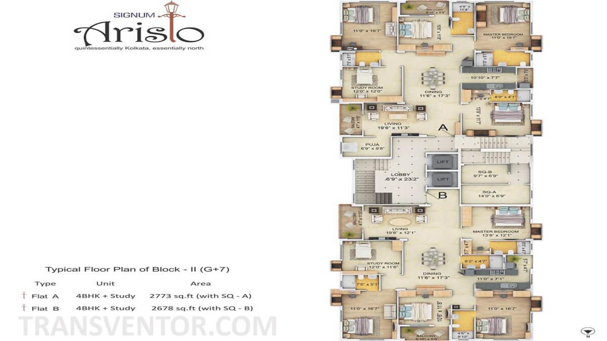 Signum Aristo Floor Plan 3