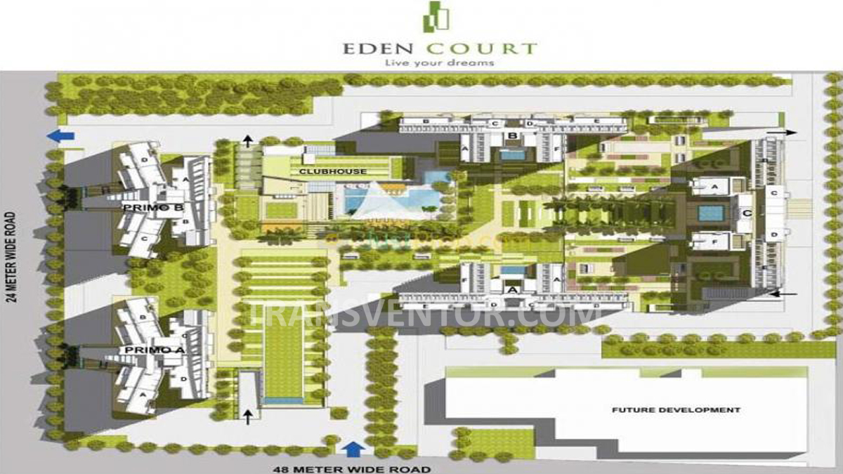 Tata Eden Court Floor Plan 3
