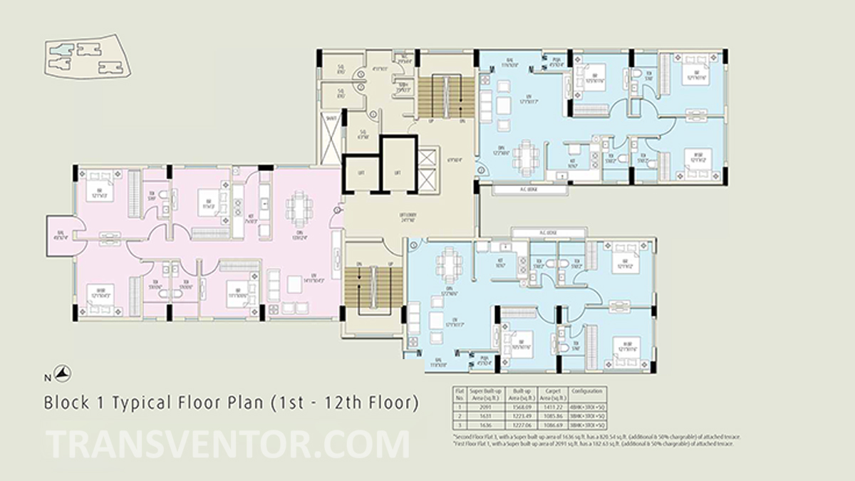 The Ecos Floor Plan 2