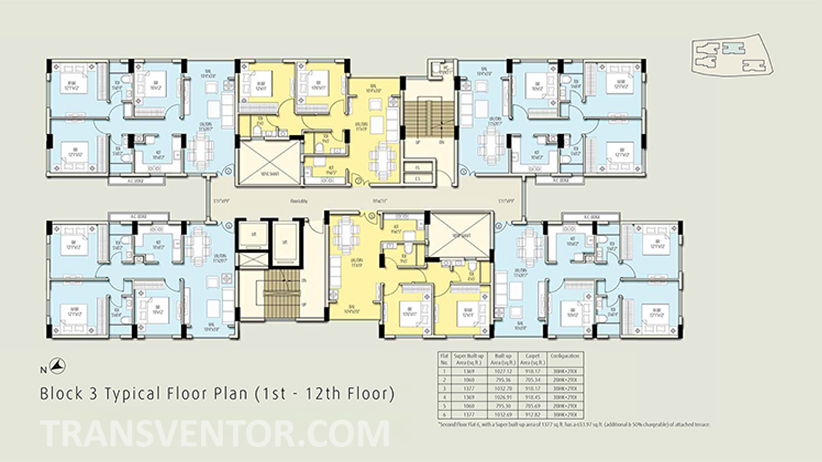 The Ecos Floor Plan 3