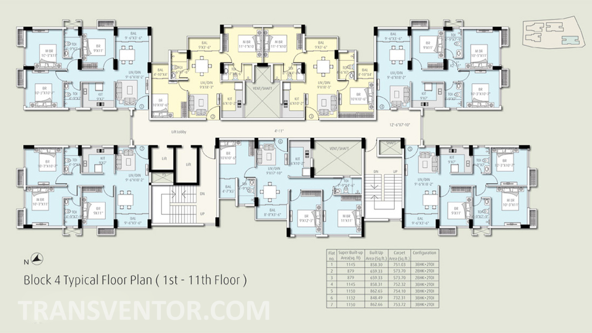 The Ecos Floor Plan 4