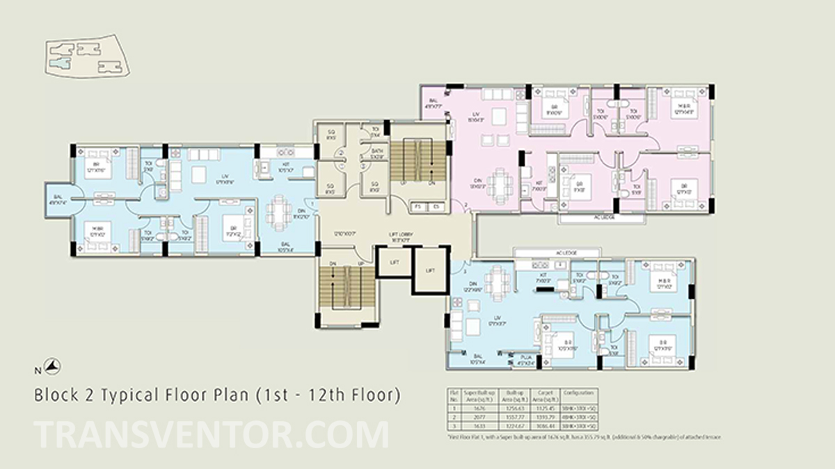 The Ecos Floor Plan 5