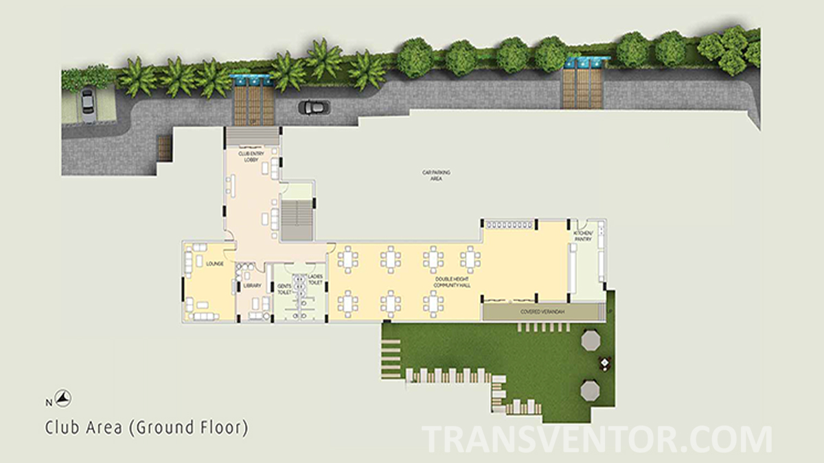 The Ecos Floor Plan 1