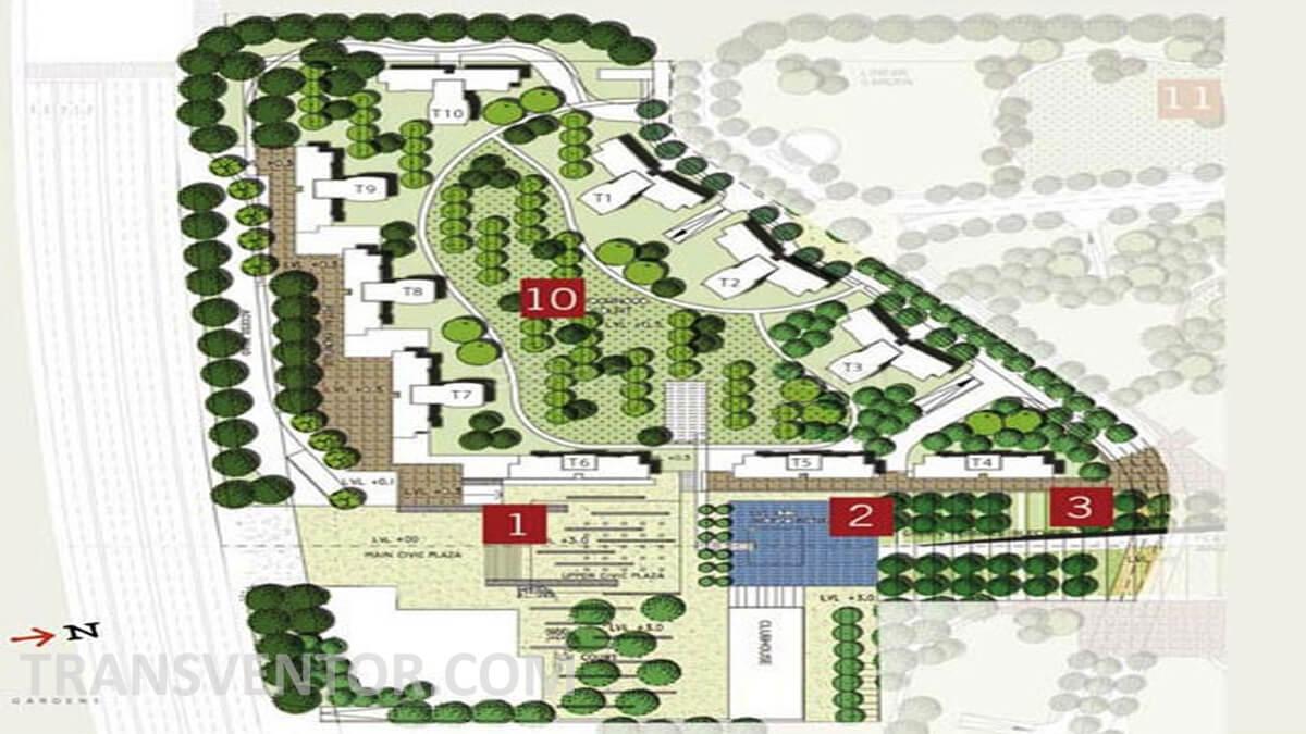 Unitech Gardens Floor Plan 1