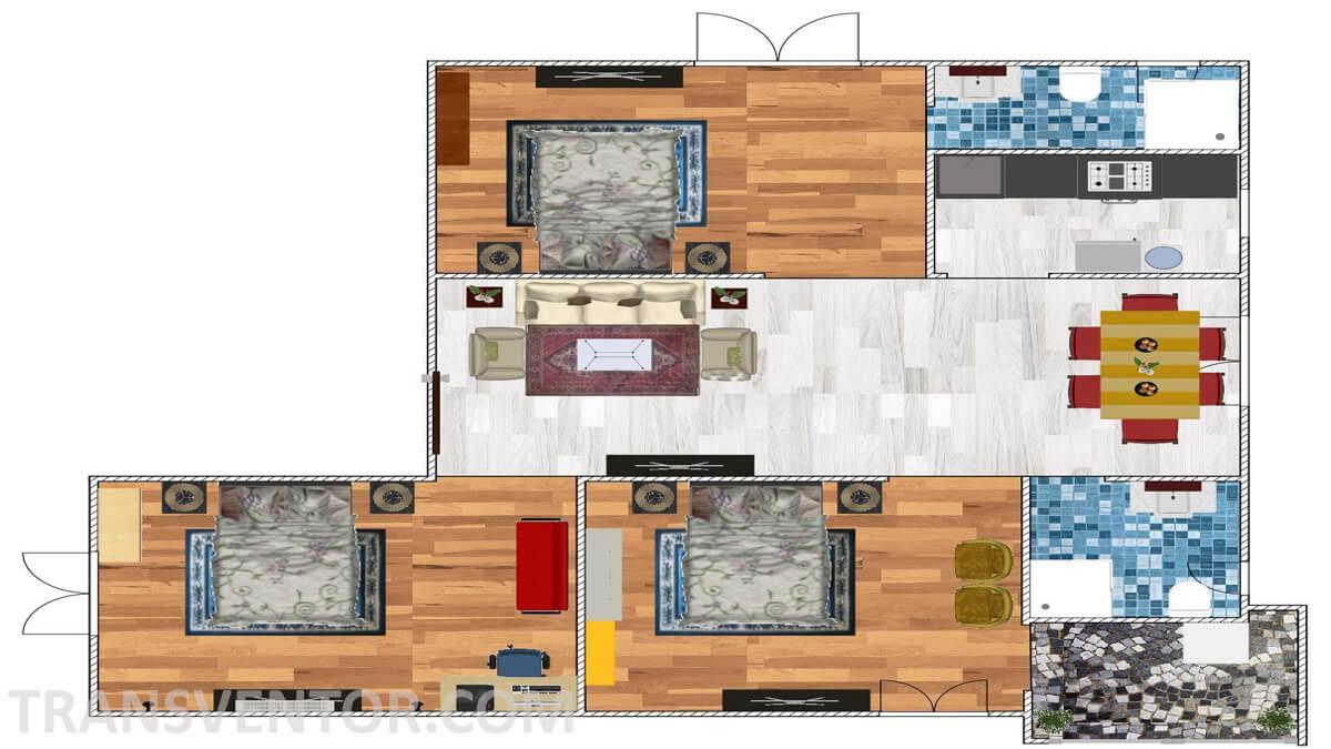 Bengal Abasan Urban Sabujayan Floor Plan 1