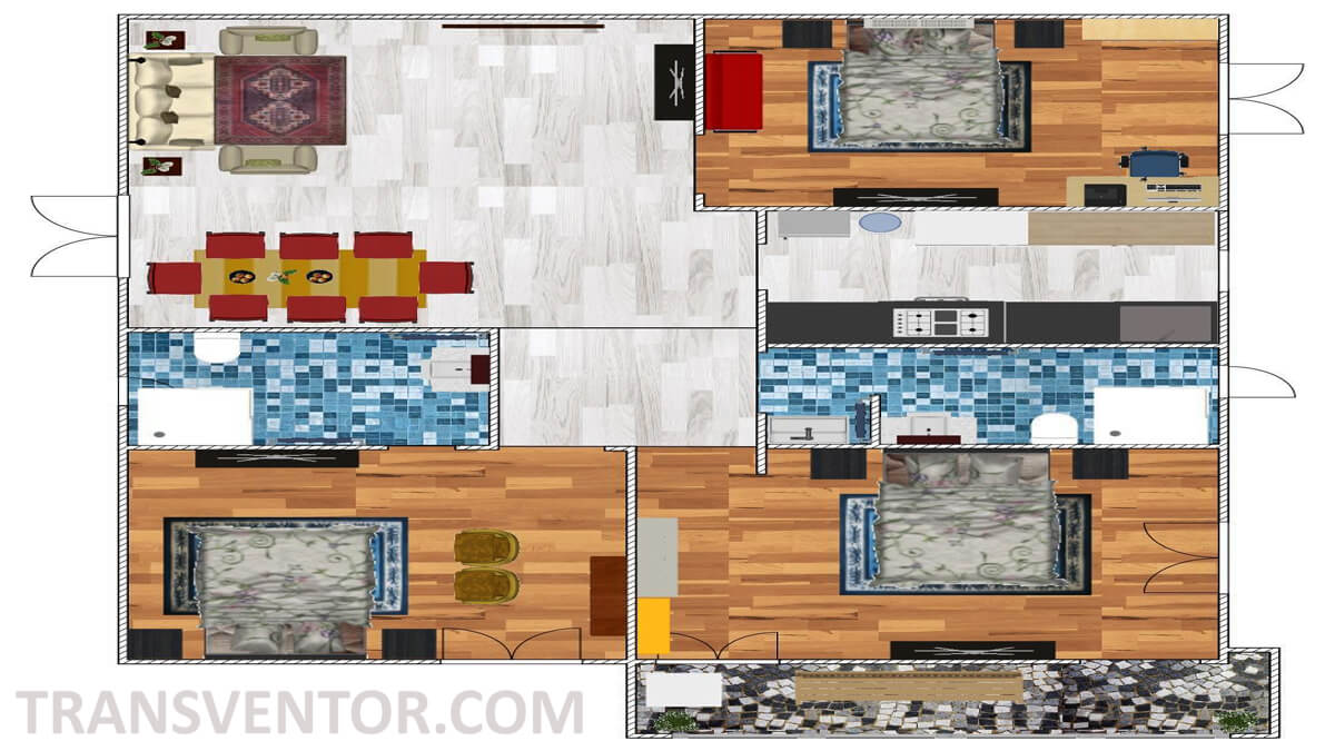 Bengal Abasan Urban Sabujayan Floor Plan 2