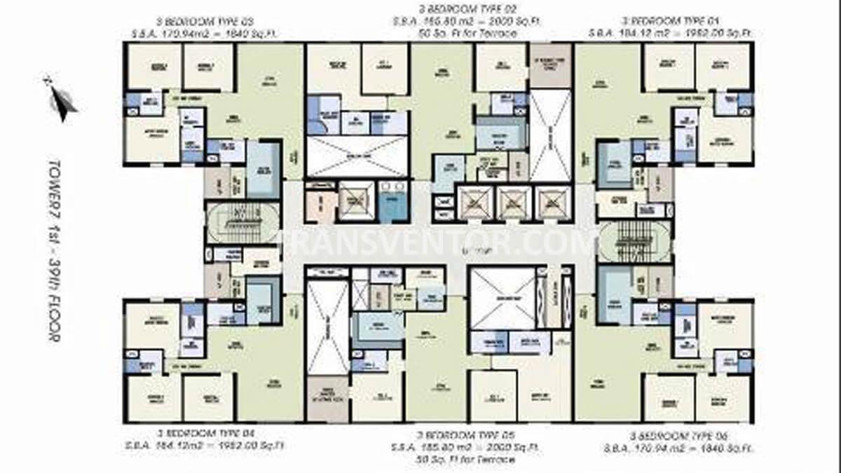 Urbana Floor Plan 2