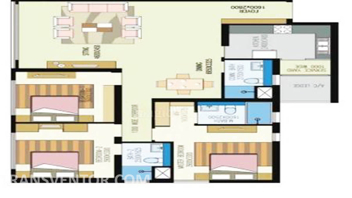 Urbana Floor Plan 3