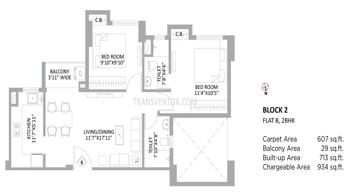 PS Amistad Floor Plan 1