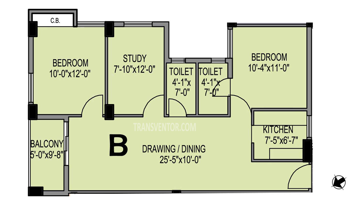 PS Eternis Floor Plan 3