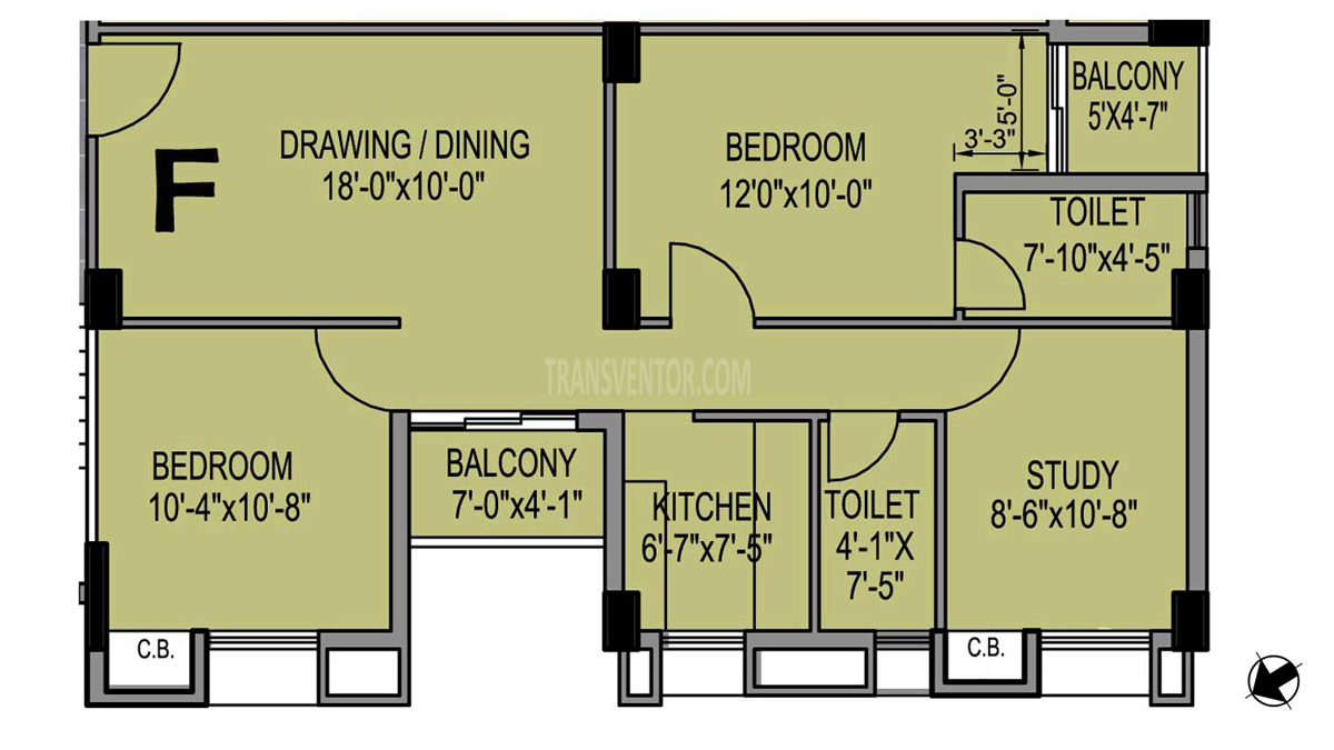 PS Eternis Floor Plan 4