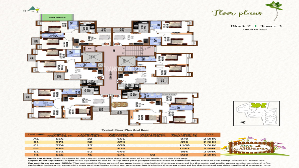 Eden Tolly Gardenia Floor Plan 8