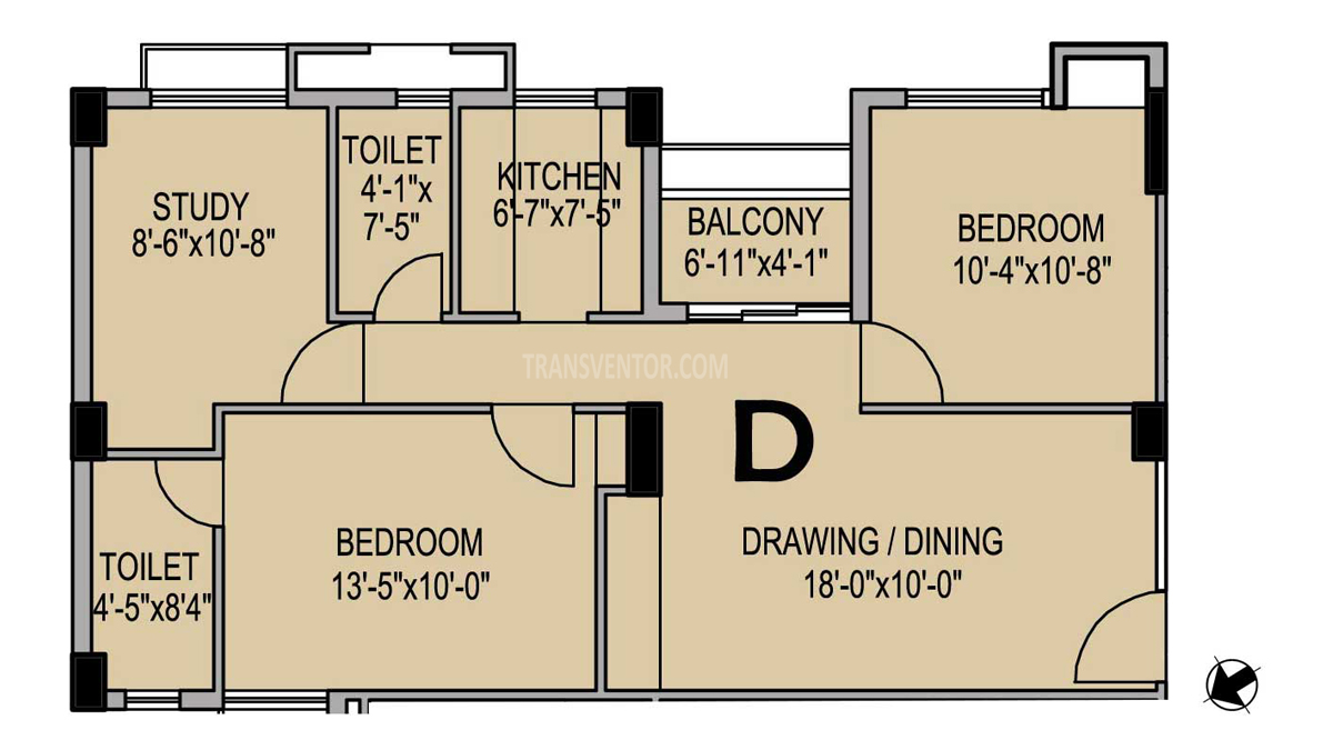 PS Eternis Floor Plan 5