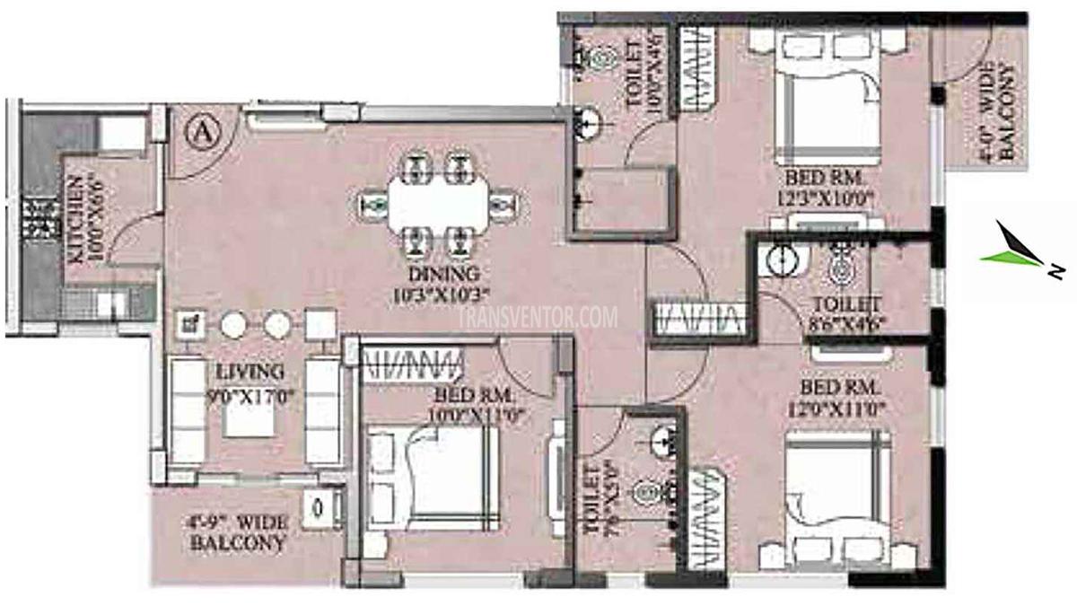 PS Majhergaon Floor Plan 4