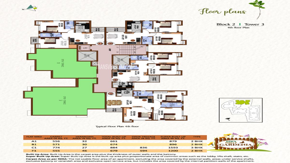 Eden Tolly Gardenia Floor Plan 9