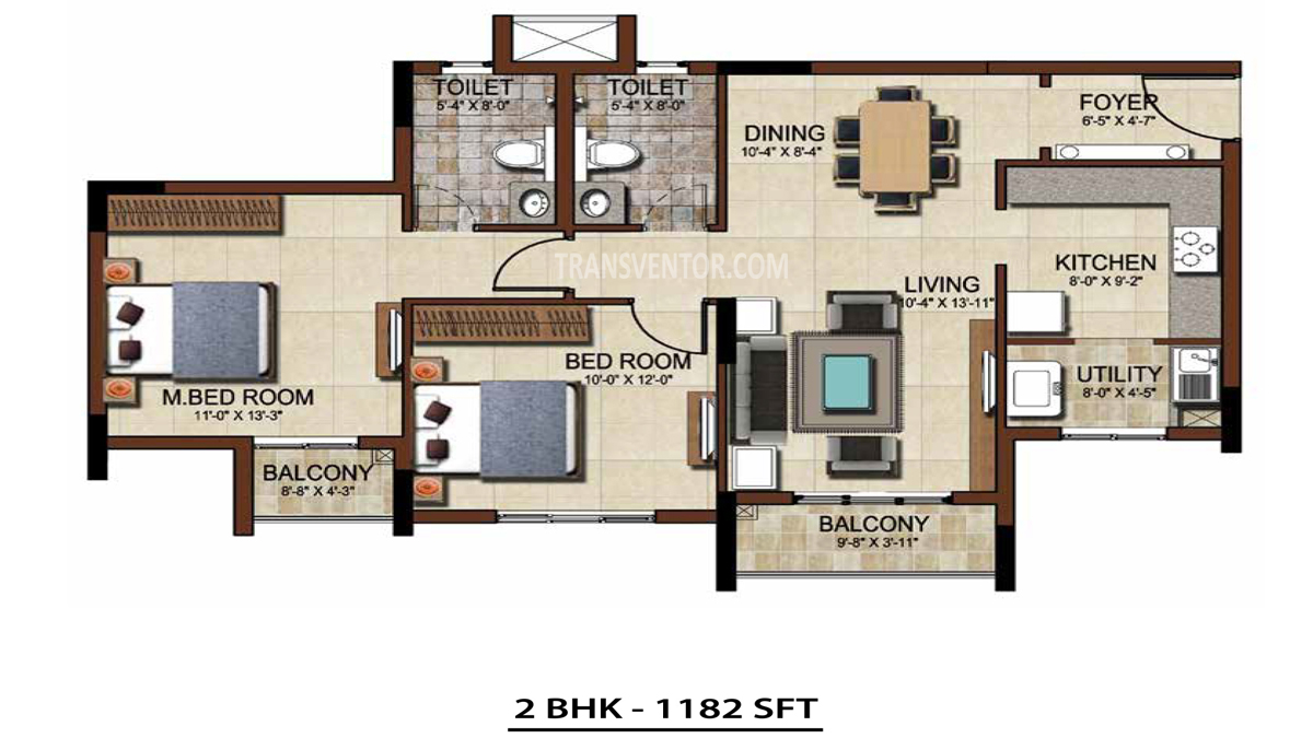 Salarpuria Sattva East Crest Floor Plan 9