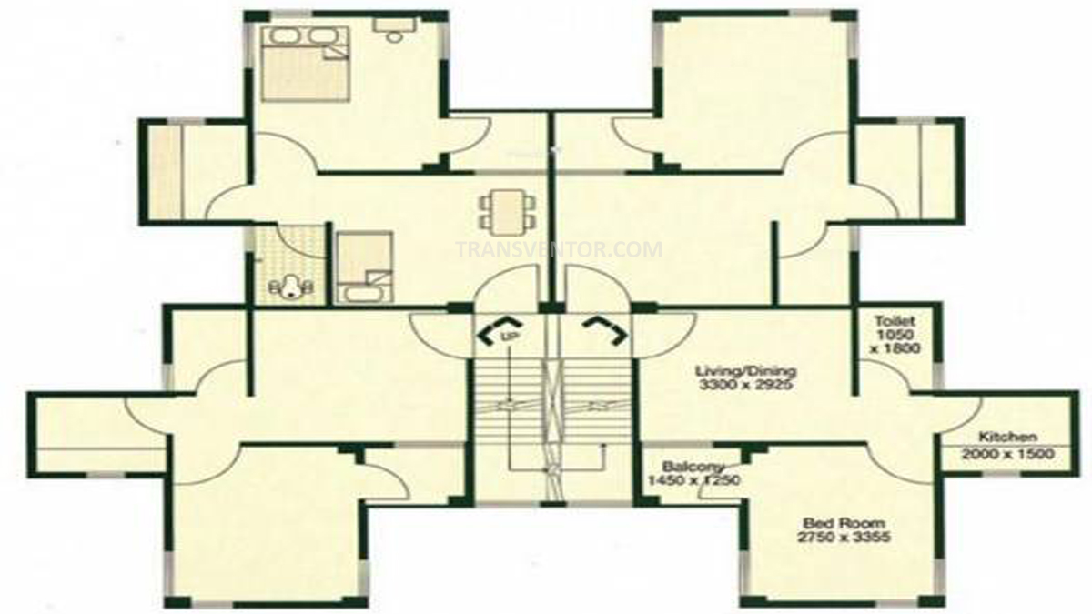 Bengal Peerless Avishikta Phase II Floor Plan 2
