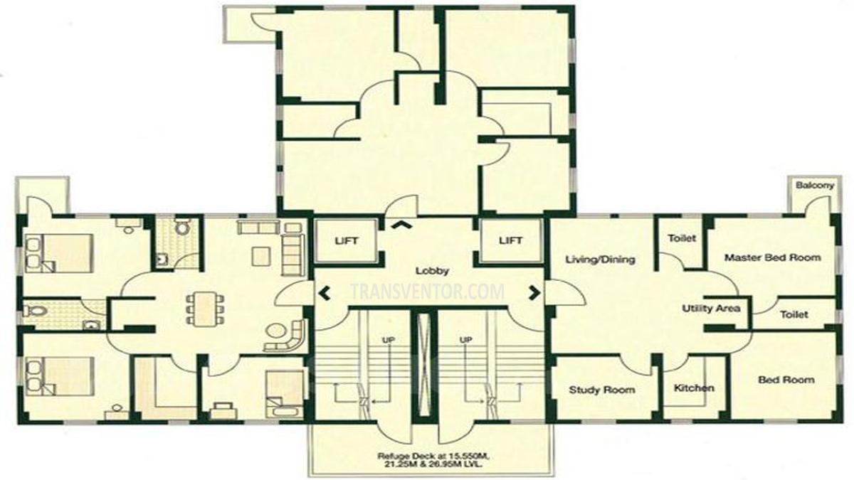 Bengal Peerless Avishikta Phase II Floor Plan 3