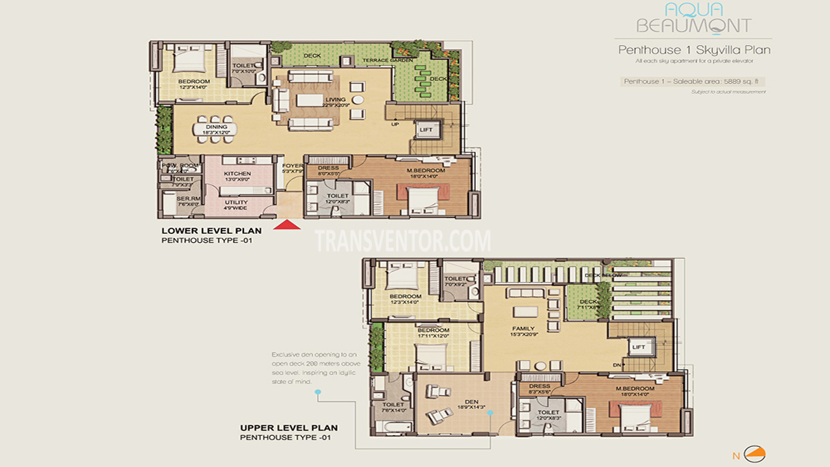 Space Aqua Beaumont Floor Plan 2