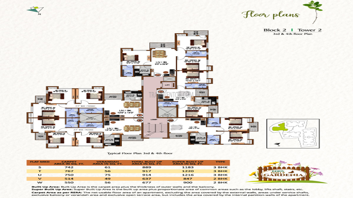 Eden Tolly Gardenia Floor Plan 7