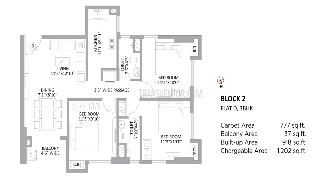 PS Amistad Floor Plan 9