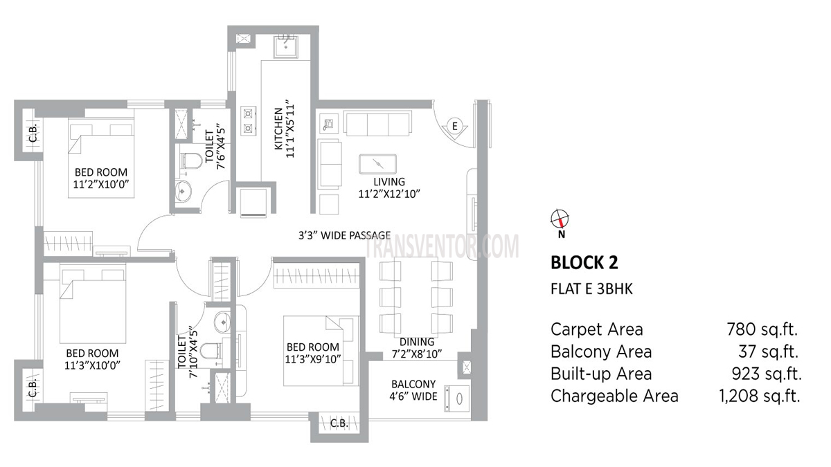 PS Amistad Floor Plan 10
