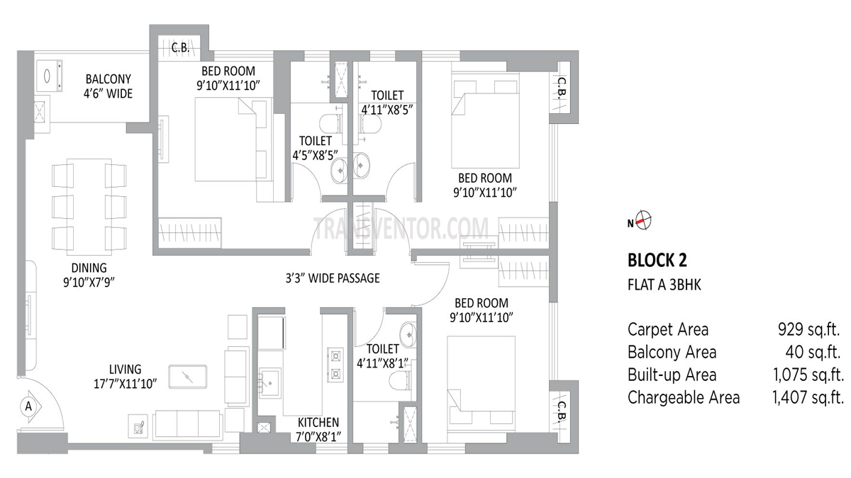 PS Amistad Floor Plan 11