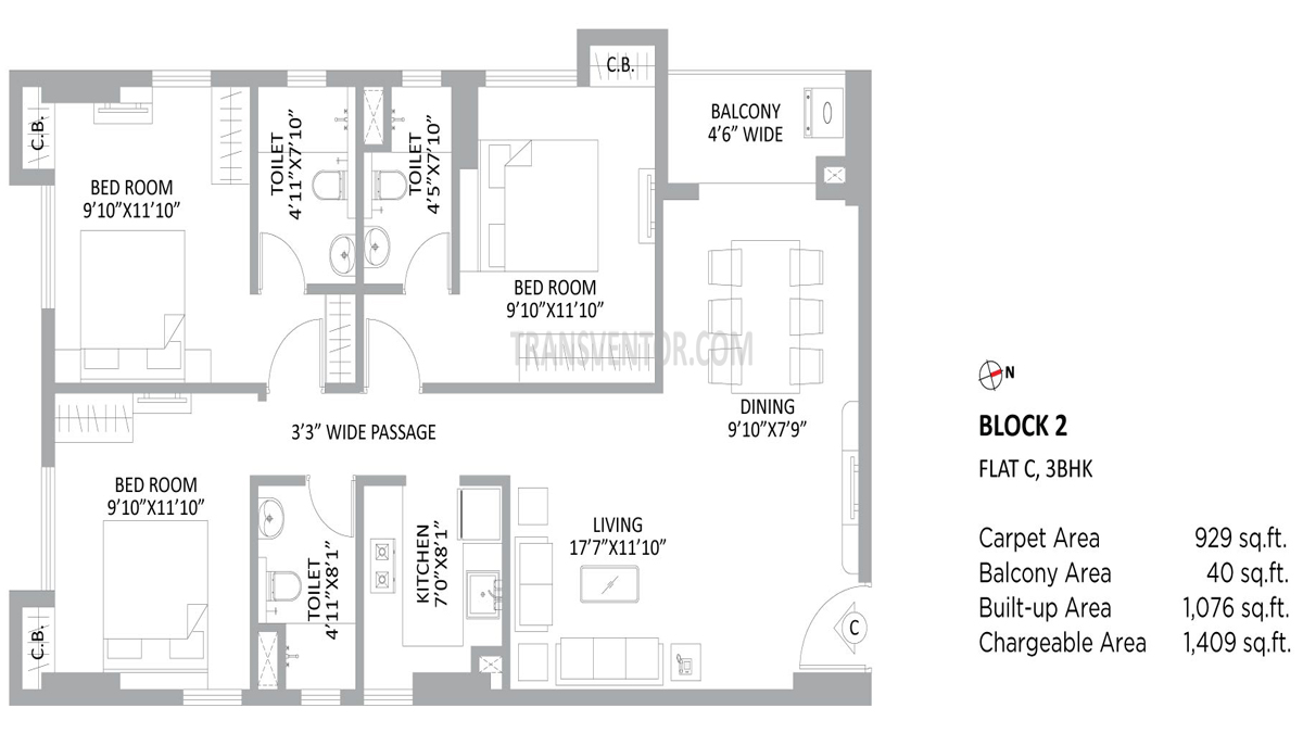 PS Amistad Floor Plan 12