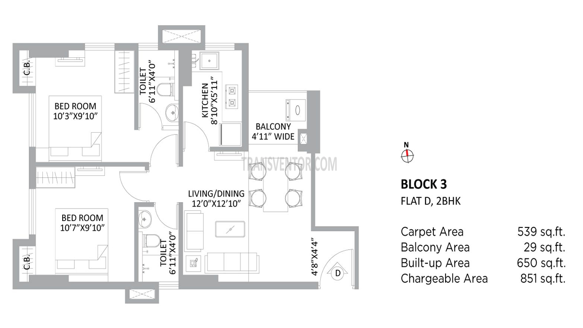 PS Amistad Floor Plan 2