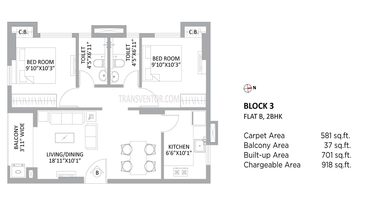 PS Amistad Floor Plan 4