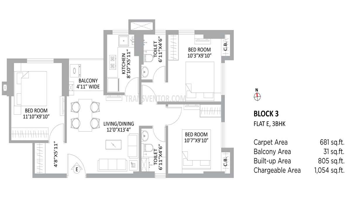PS Amistad Floor Plan 5