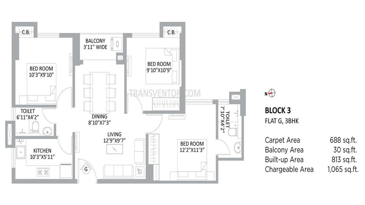 PS Amistad Floor Plan 6