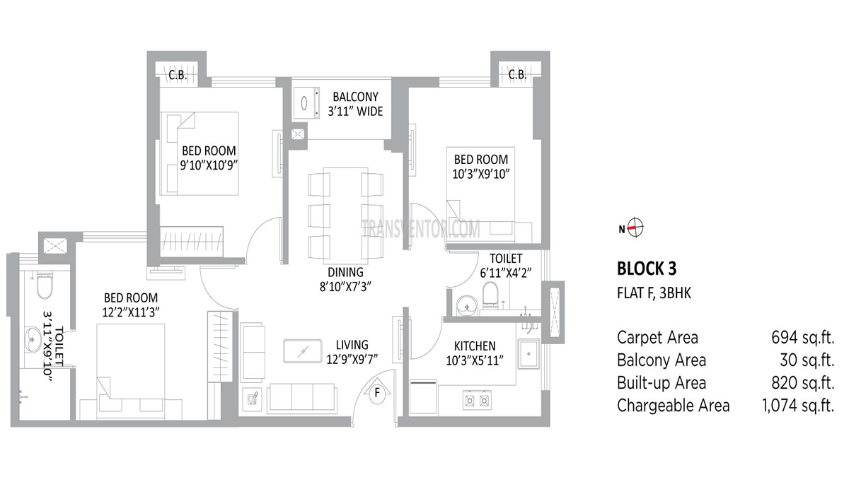 PS Amistad Floor Plan 7