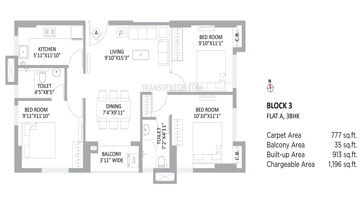 PS Amistad Floor Plan 8