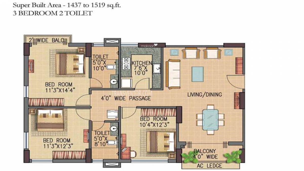 Forum Pravesh Floor Plan 2