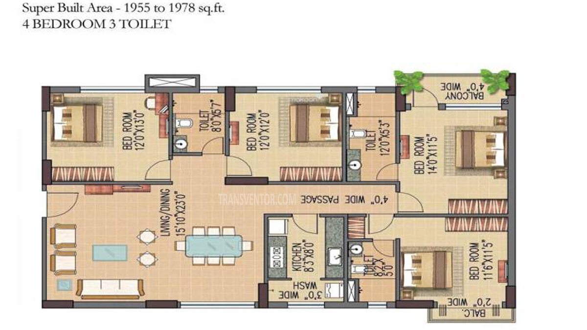 Forum Pravesh Floor Plan 5