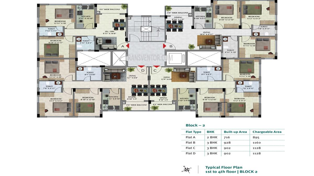 Primarc Sukriti Floor Plan 2
