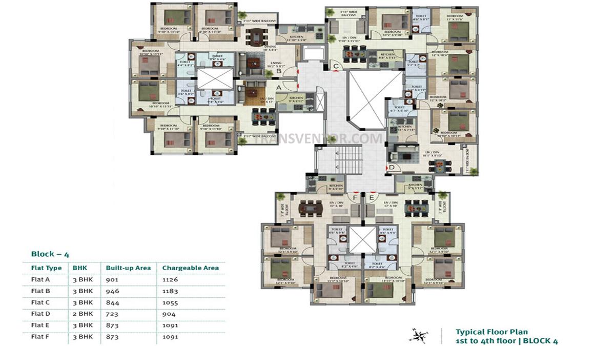 Primarc Sukriti Floor Plan 3