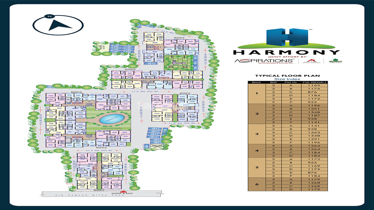 Aspirations Harmony Floor Plan 1