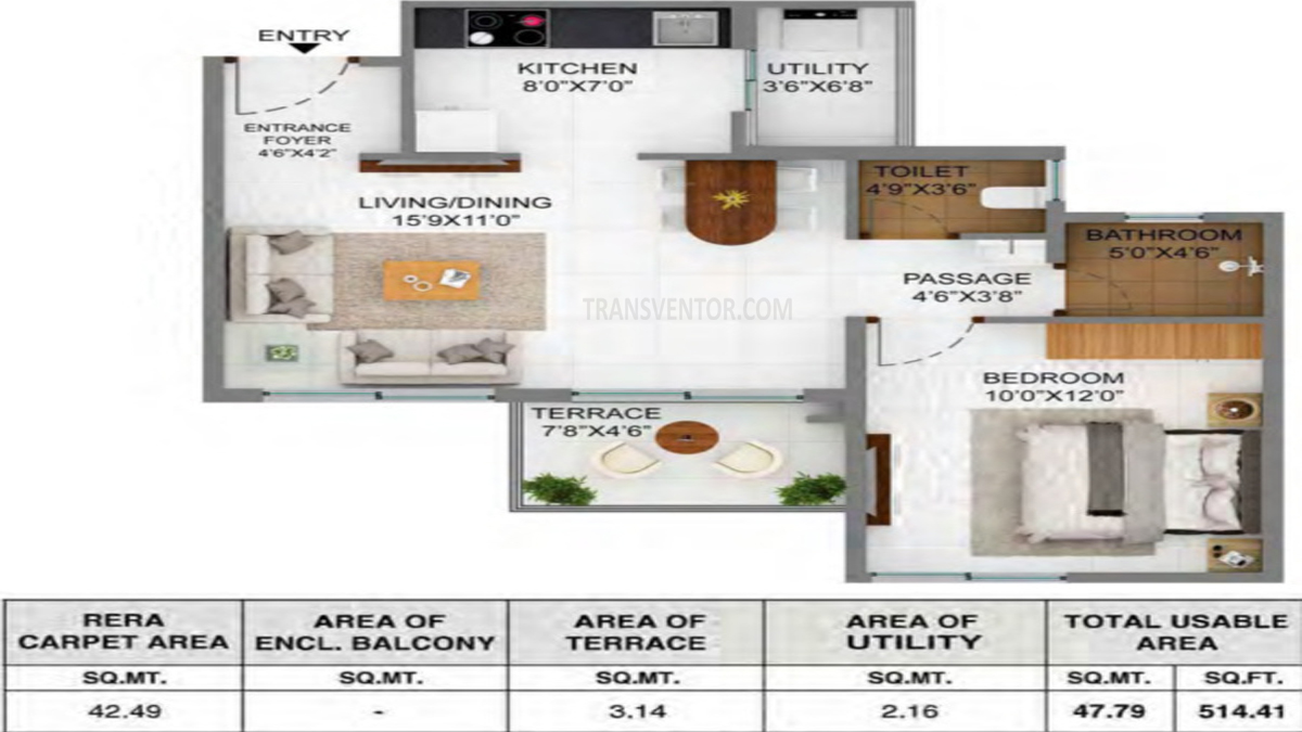 Joyville Hinjewadi Floor Plan 1