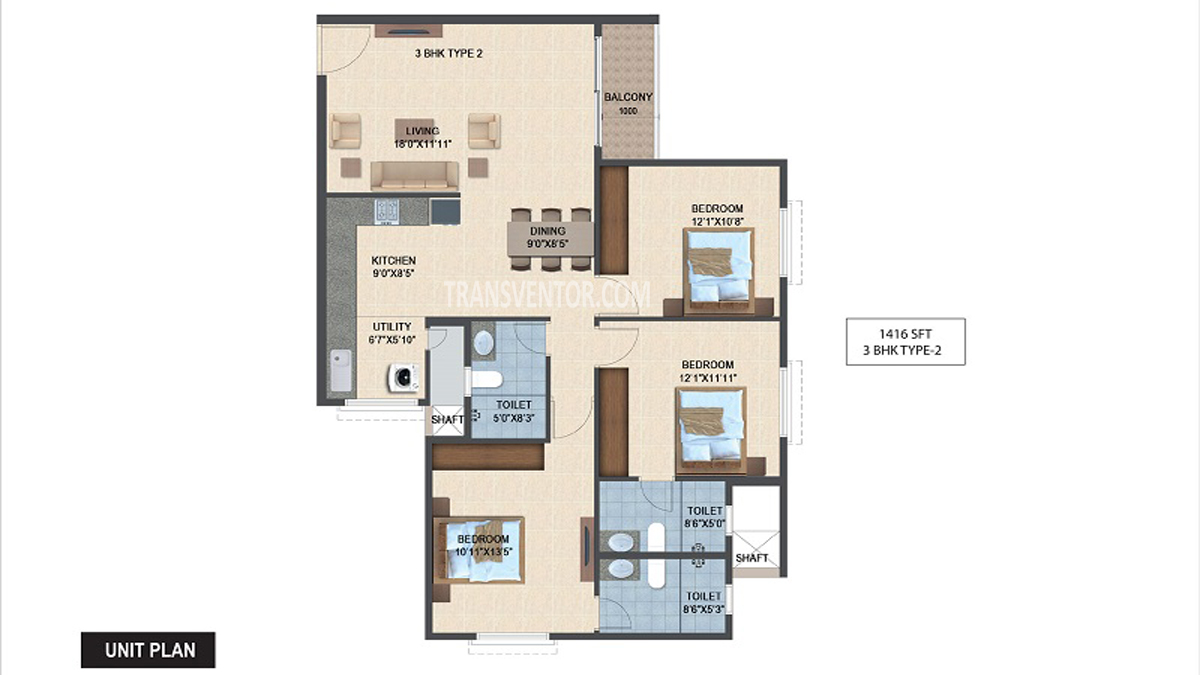 Salarpuria Sattva Laurel Heights Floor Plan 5