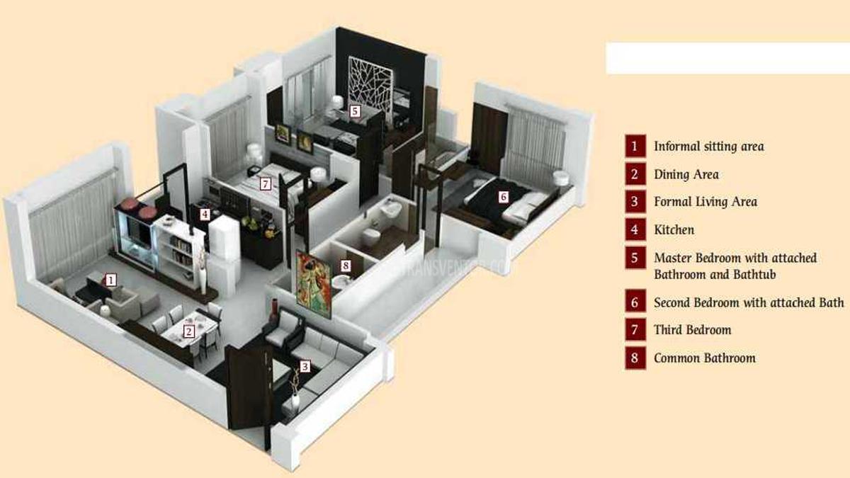 Mandevilla Garden Floor Plan 2