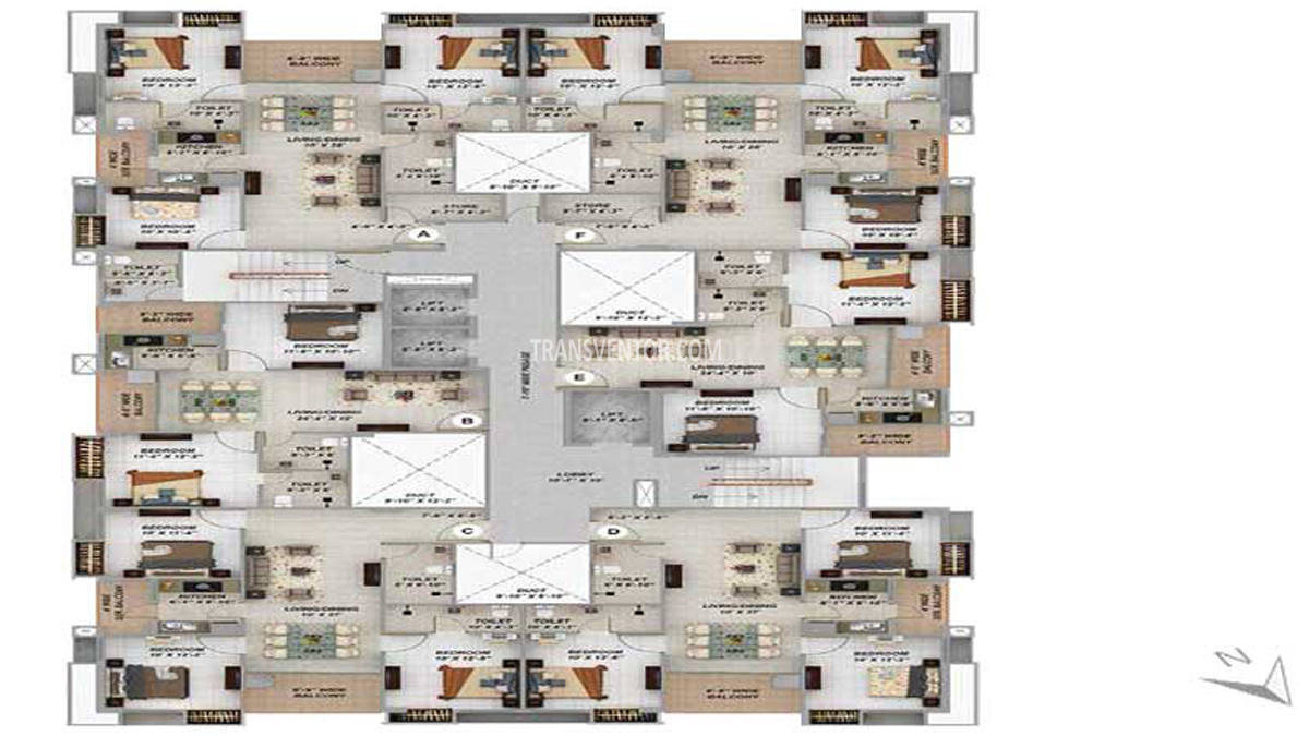 Merlin Next Floor Plan 2